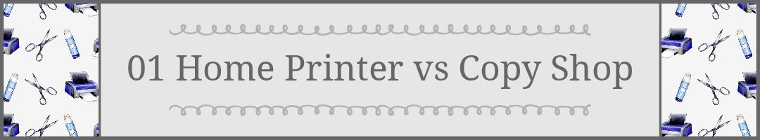 # 1 Tips for Printing Printaples: Home Printer vs Copy Shop #howto #printables | countryhillcottage.com