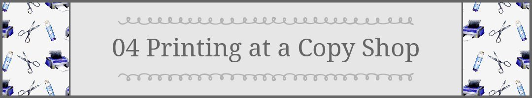 #4 Tips for Printing Printaples: Printing at a Copy Shop #howto #printables | countryhillcottage.com