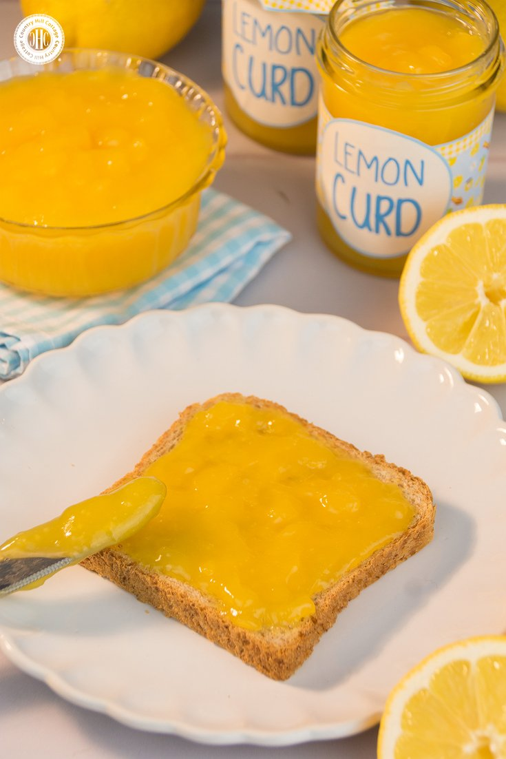 Get your spoons ready, we're making lemon curd! #homemade #lemoncurd #fromscratch | countryhillcottage.com