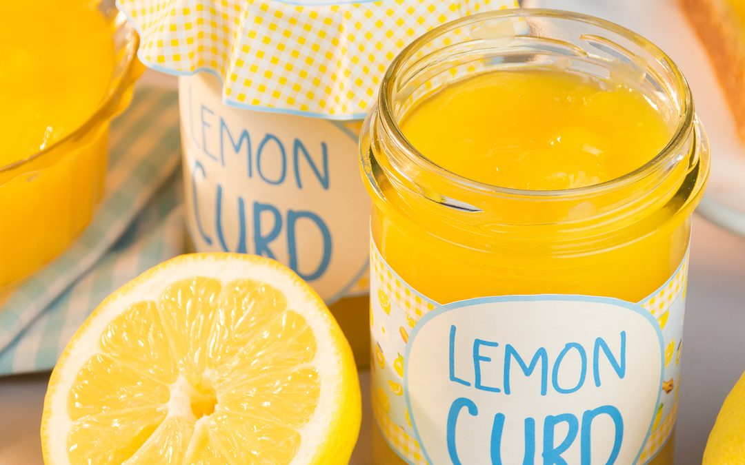 Homemade Lemon Curd and Printable Labels