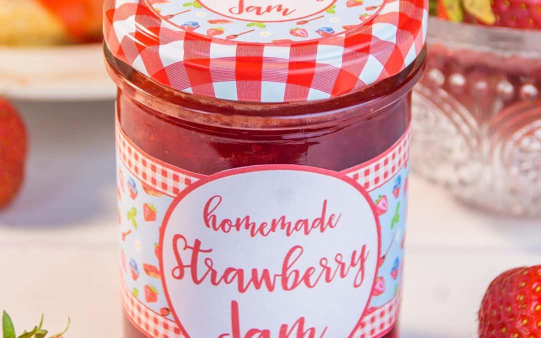 Let's Make Homemade Strawberry Jam