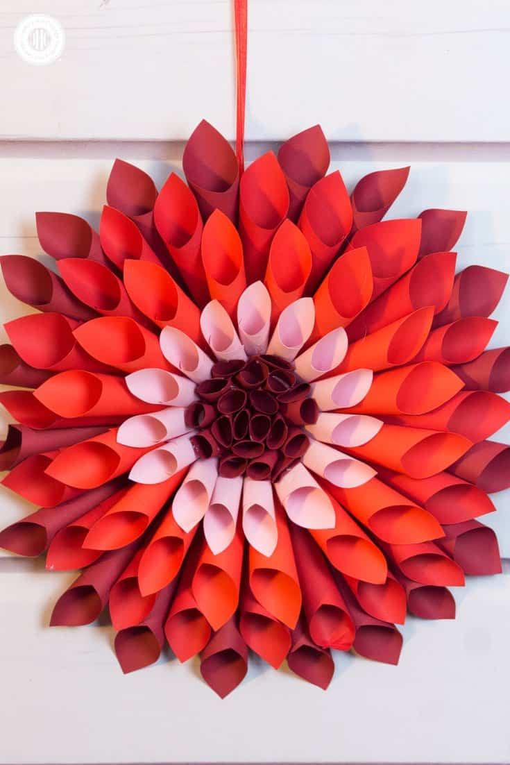 Paper Flower Dahlia Ukranochi