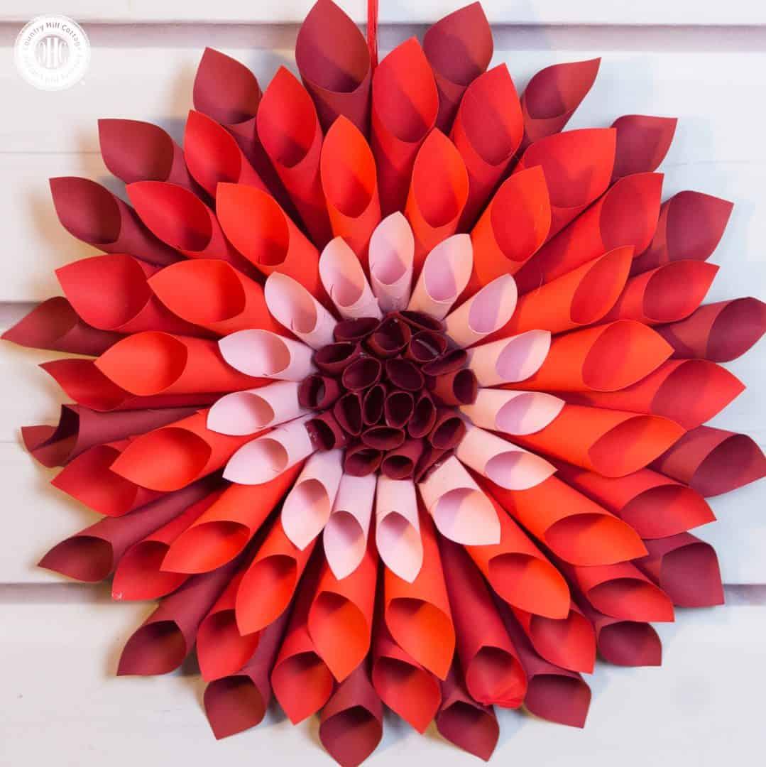 Lets Craft Giant Paper Dahlias