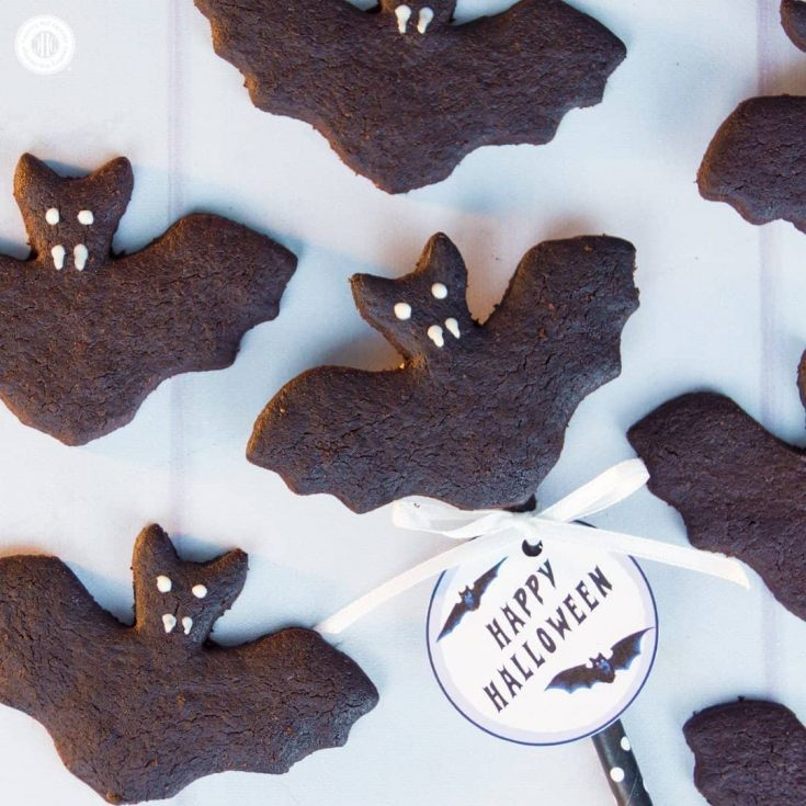 Use Dutch process or ultra-Dutched process cocoa to get super dark biscuits. You can prepare this recipe with natural cocoa as well but the biscuits will be lighter.