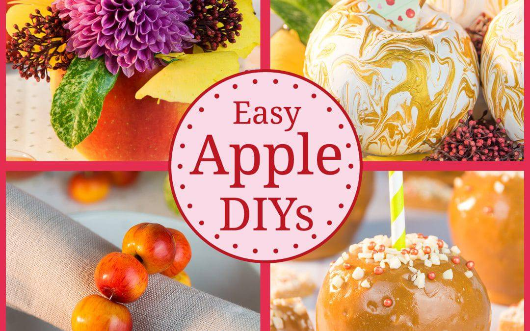 Learn 4 Quick & Easy Apple DIYs