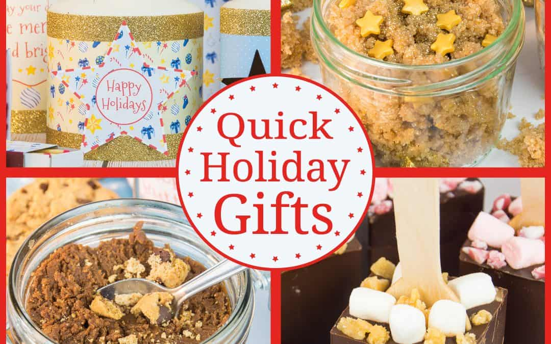 5 Quick Holiday Gift Giving Ideas
