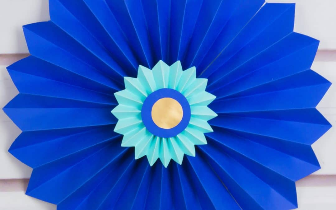 Paper Rosettes – Quick and Easy Paper Craft DIY