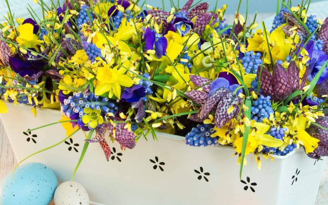 Cute Flower Arrangement Ideas For Easter
