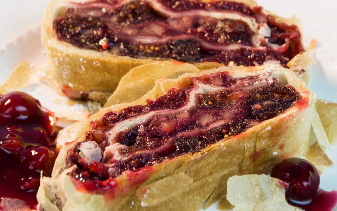 Cherry Strudel | Delicious Summer Strudel Recipe