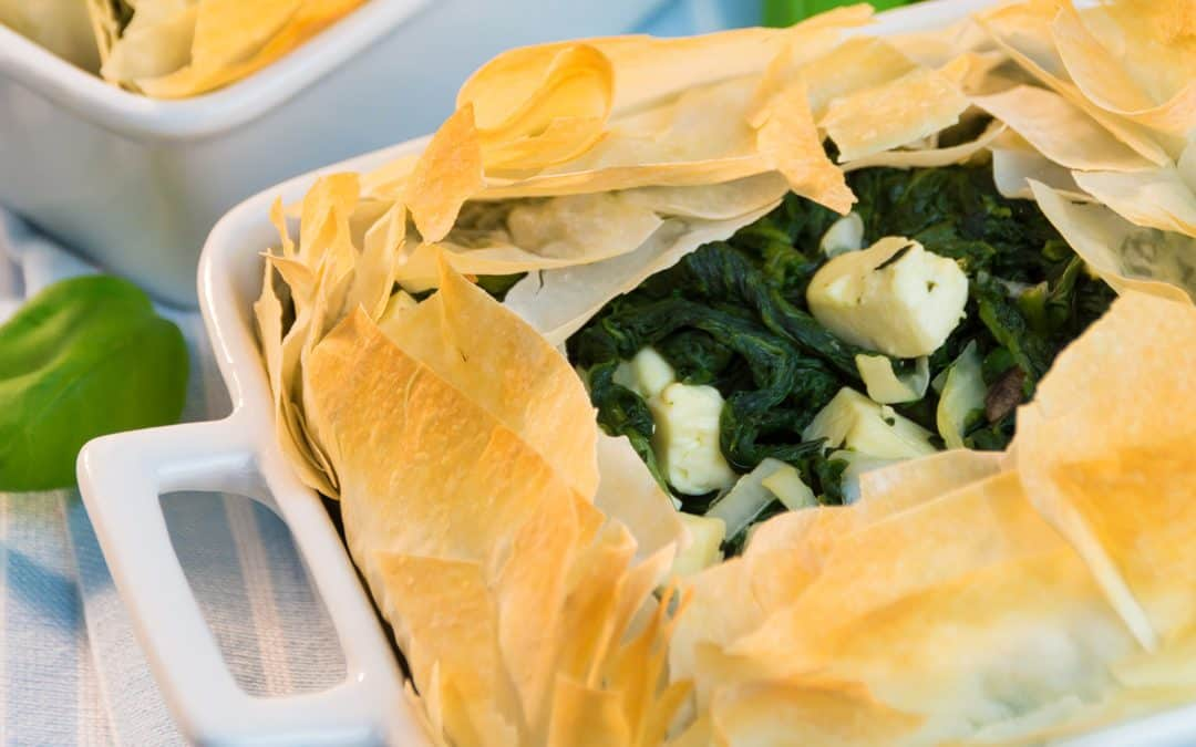Spanakopita – Delicious Greek Spinach Pie