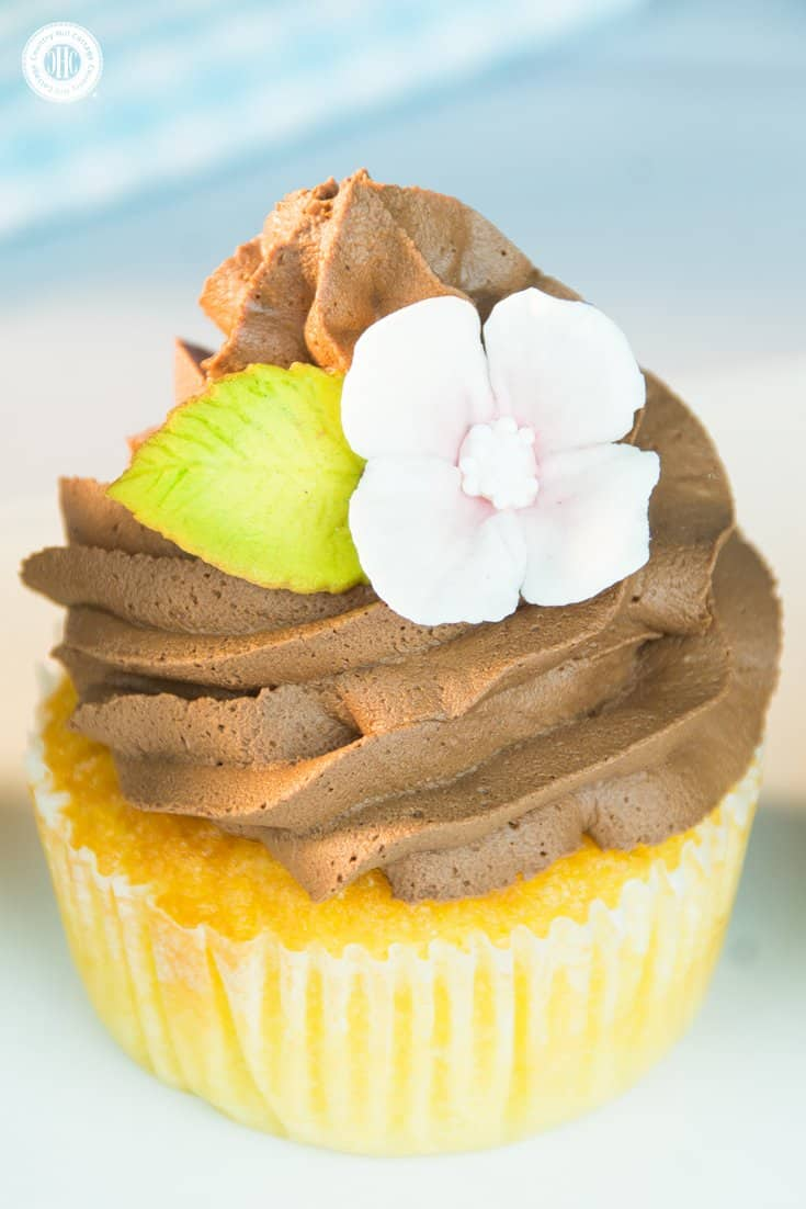 Learn our recipe for delicious and fluffy vanilla cupcakes! #vanilla #baking #recipe| countryhillcottage.com