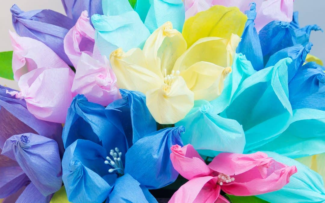 Crepe Paper Flowers – The Easiest Paper Flowers