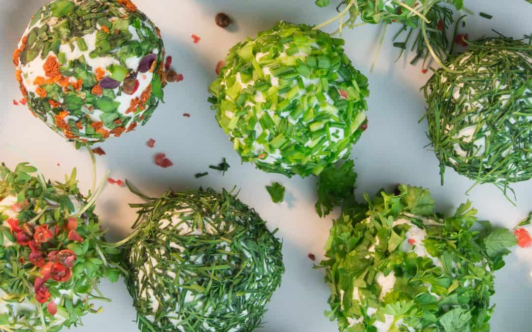 Cheese Balls with Herbs | Quick Appetiser Recipe
