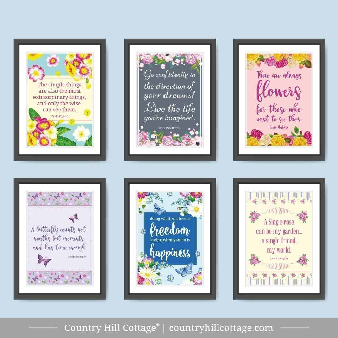 graphic regarding Free Printable Quotes known as 9 Totally free Printable Quotations Spherical-Up
