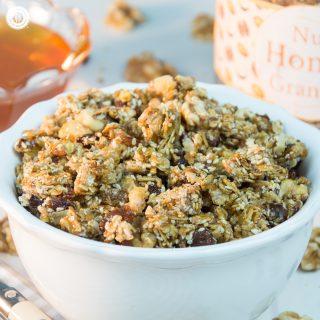 Crunchy Honey Nut Granola