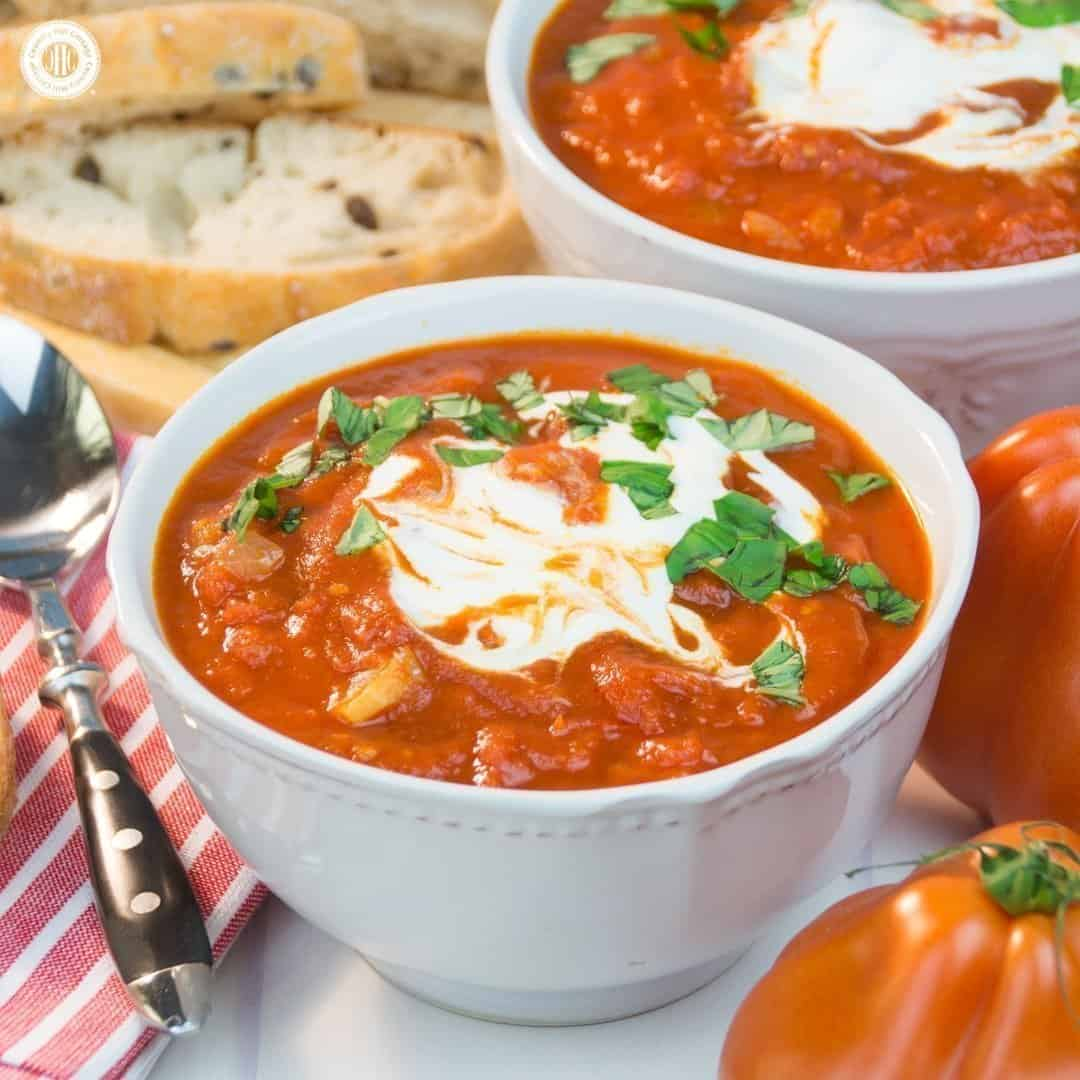 tomato soup a perfect summer soup recipe country hill Canon Printer CD DVD Printing Printer Printing Blank Pages