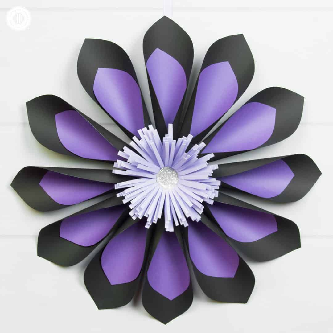 Giant Two-Toned Paper Flowers