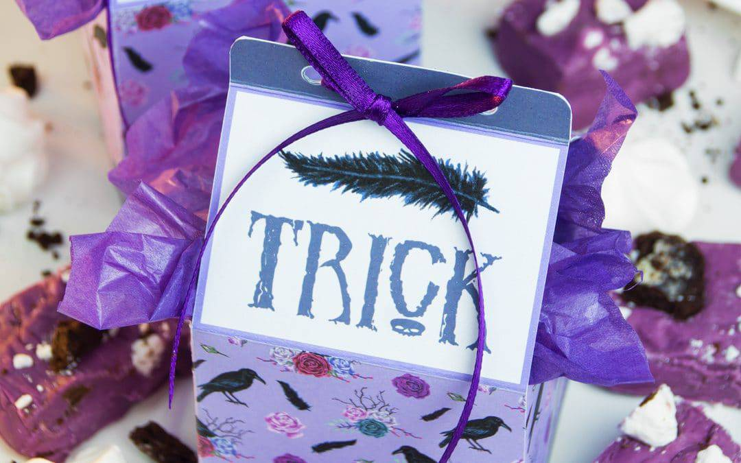 Trick-or-Treat Favour Boxes | Free Printable