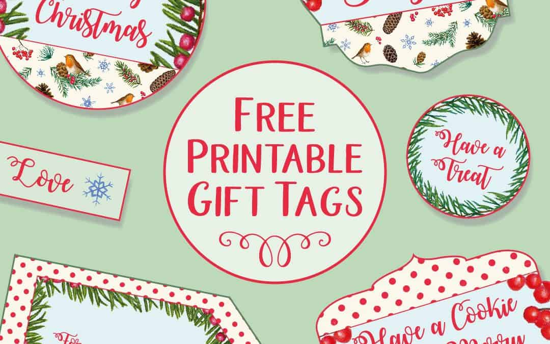 image relating to Free Printable Gift Tags Christmas identify Printable Xmas Reward Tags