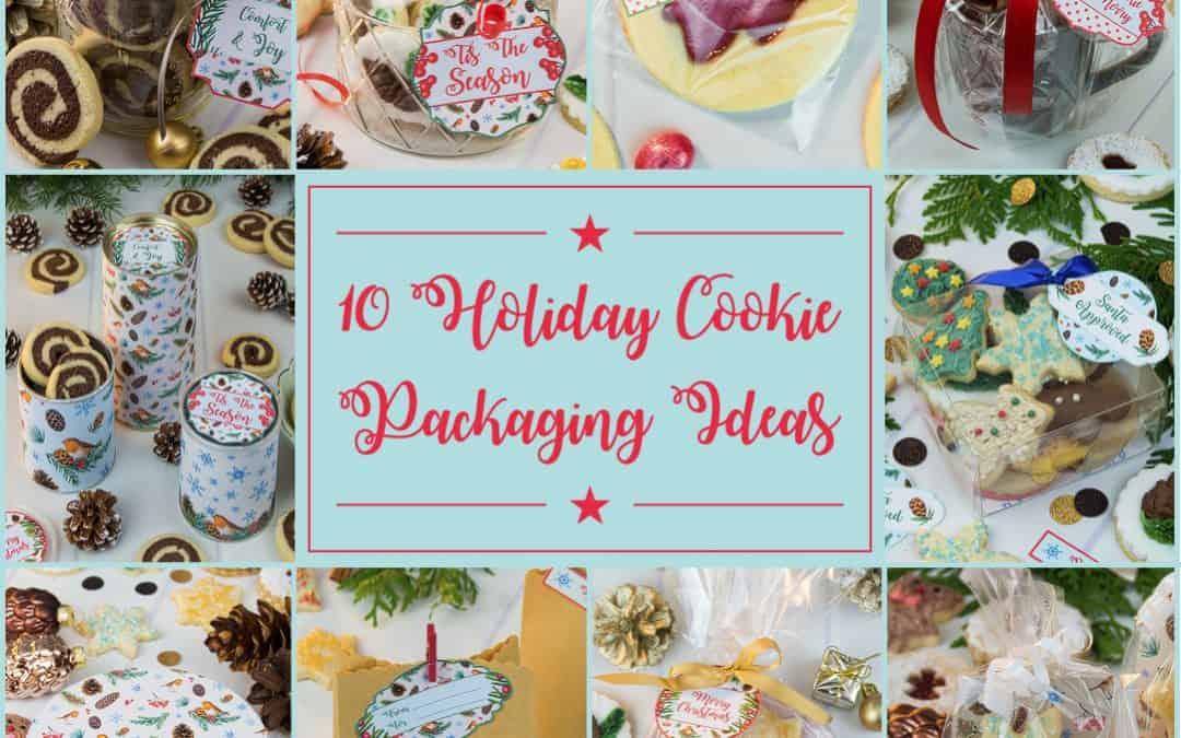 10 Cookie Packaging Ideas & Printable Gift Tags