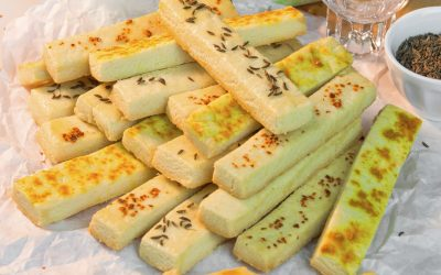 Cheese Sticks | Quick Party Appetiser Recipe