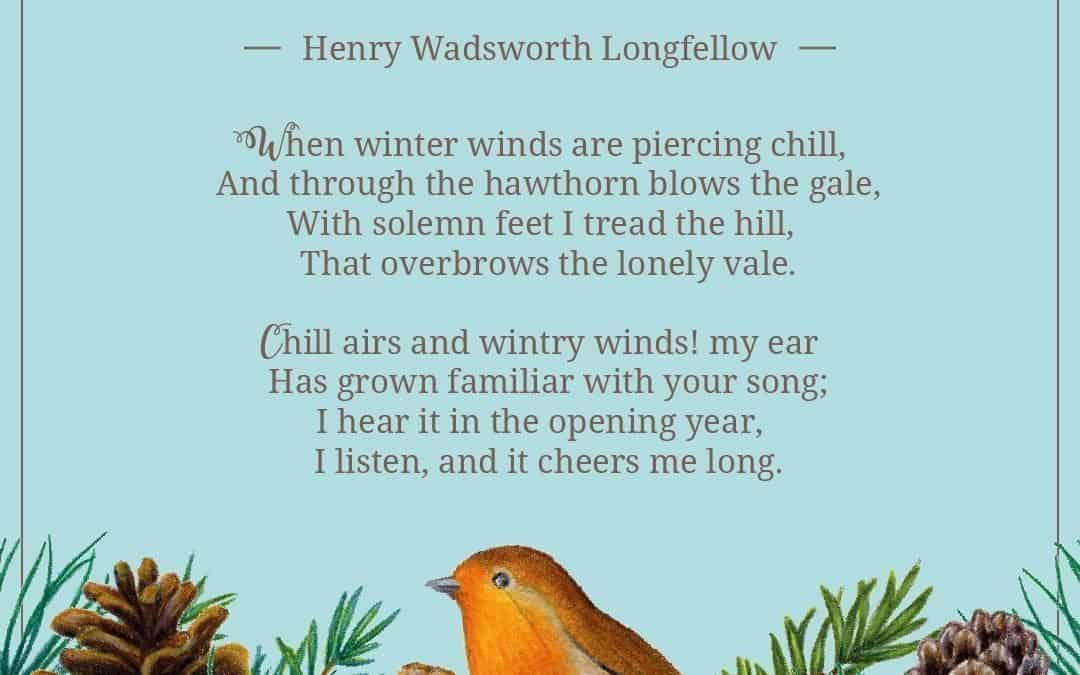 Woods in Winter by Henry Wadsworth Longfellow