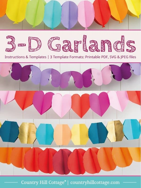 3-D Garlands eBook
