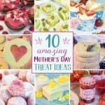 We've rounded up 10 easy Mother's Day treat ideas to celebrate Mum. Our list of homemade food gifts and Mother's Day sweets includes biscuits, truffles, cupcakes, mini cakes, fondant fancies, and delicious strawberry jam. Each recipe comes with free printable labels or treat boxes, giving you everything you need to create a special present that Mum can cherish. #mothersday #foodgifts #giftgiving #cookies #prinatbles | countryhillcottage.com