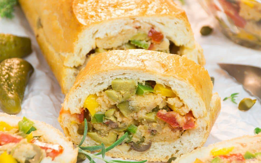 Patafla – A Delicious Mediterranean Picnic Loaf