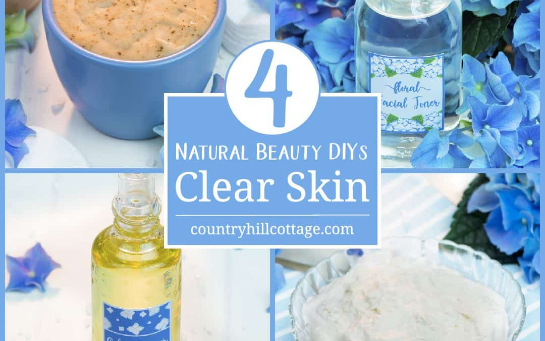 4 Beauty DIYs for Clear Skin & Natural Acne Treatment