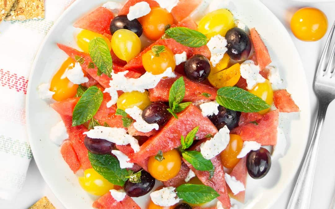 Fruity Watermelon Salad Recipe for Summer