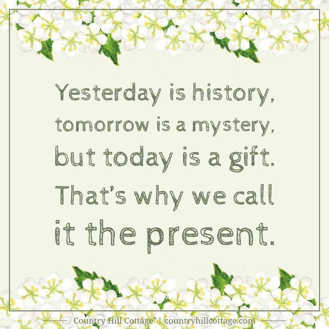 yesterday is history  tomorrow is a mystery  but today is Canon Printer CD DVD Printing Canon Printer CD DVD Printing