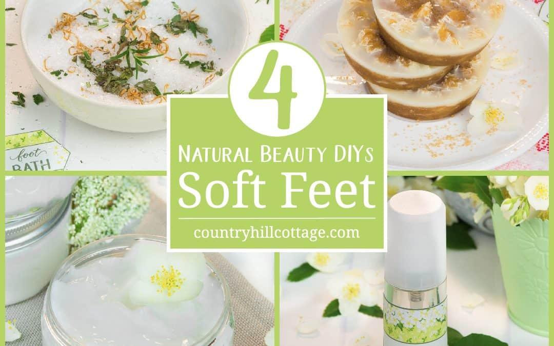 DIY Foot Care Recipes