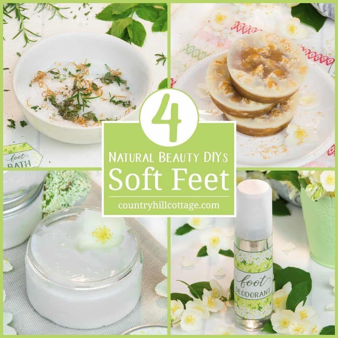 DIY Beauty Recipes for Soft Feet
