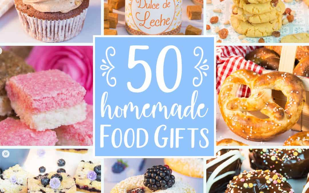 Edible Gifts | 50+ Food Gifts Ideas: Cakes, Cookies, Sweets