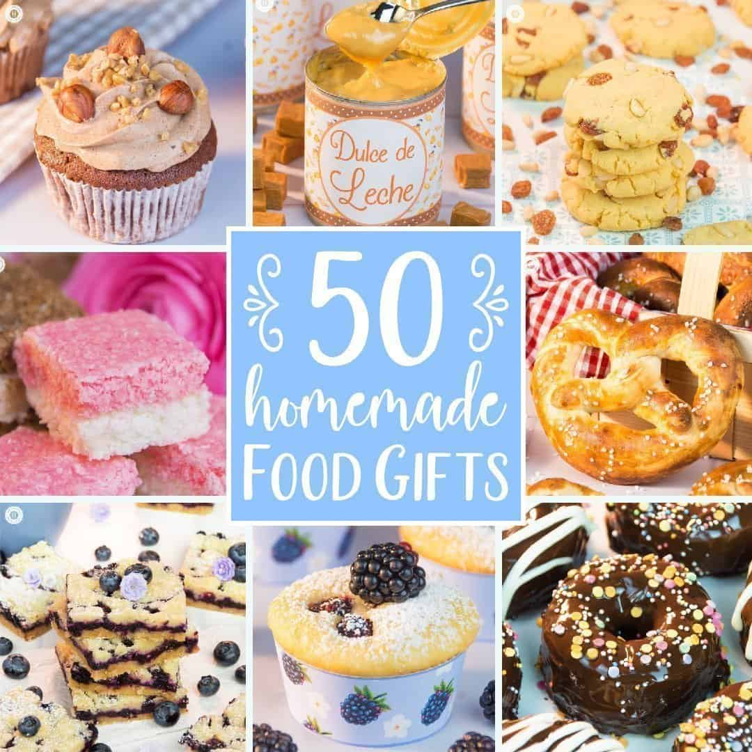 50+ Food Gift Ideas for the Holidays