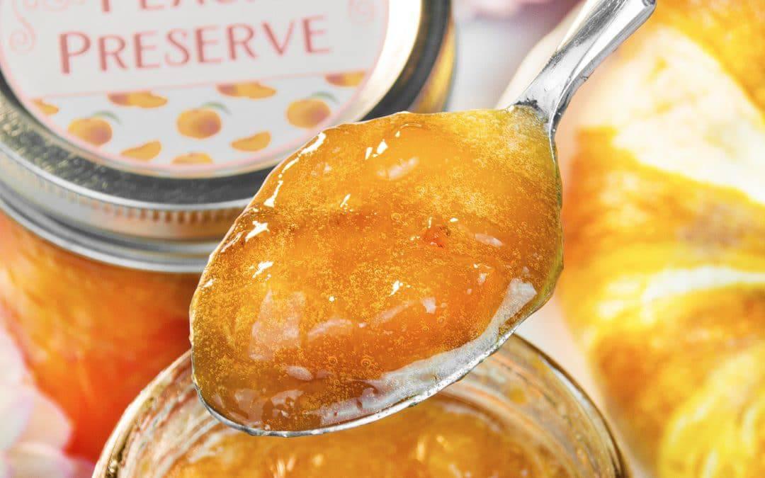 Peach Preserves – Homemade Peach Jam