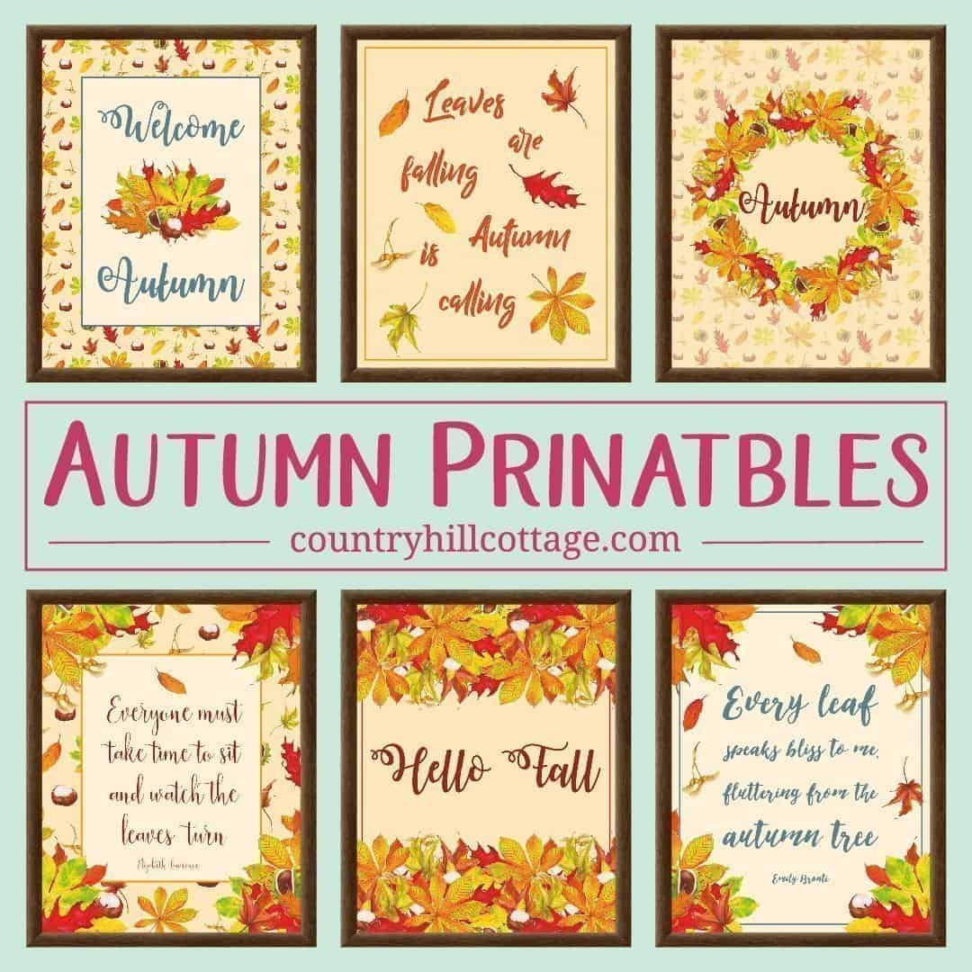 Check out our collection of free printables | countryhillcottage.com