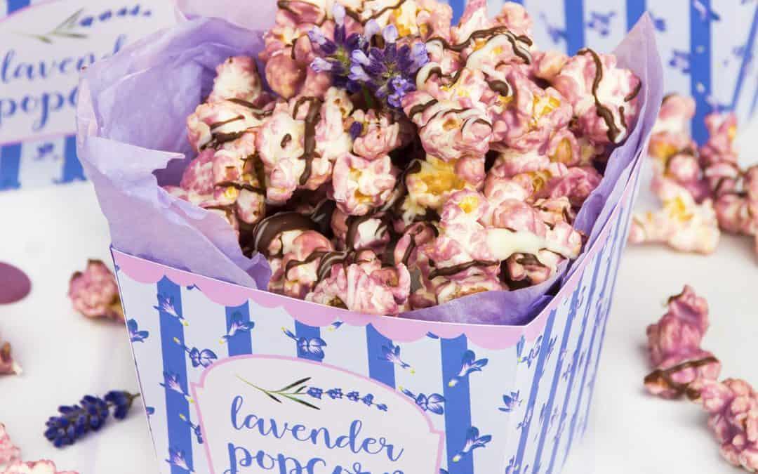 Lavender Popcorn with Lavender Essential Oil