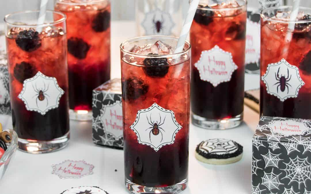 Black Widow Lemonade | Blackberry & Pomegranate Drink