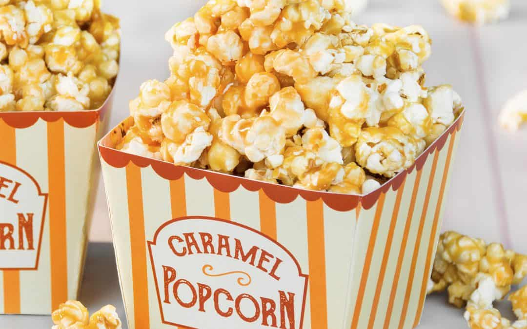 Caramel Popcorn Made From Scratch