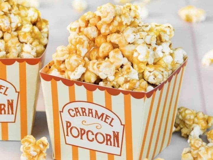 Caramel Popcorn Made From Scratch