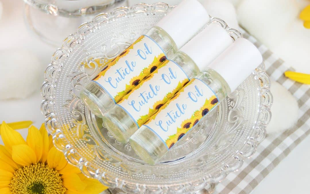 DIY Cuticle Oil with Essential Oils to Strengthen Nails & Dry Cuticles