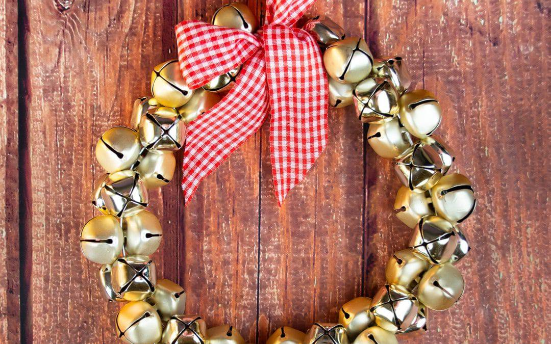 Jingle Bells Wreath | Easy DIY Christmas Wreath Idea