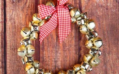 Jingle Bells Wreath | Easy DIY Christmas Wreath Idea