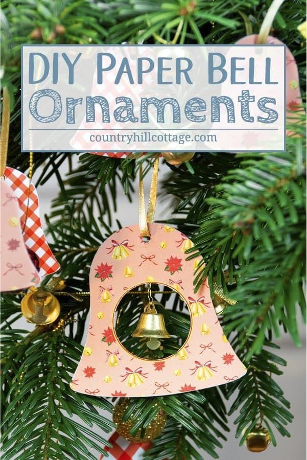 image about Ornaments Printable called Do it yourself Paper Xmas Ornaments Printable Bell Ornaments
