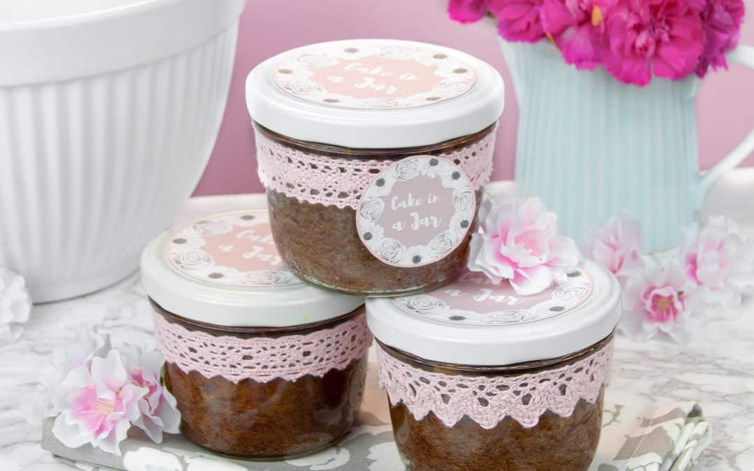 Chocolate Cakes in a Jar