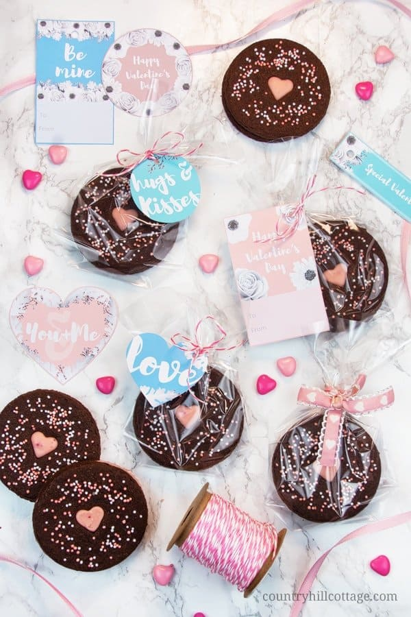 Chocolate cookie food gift