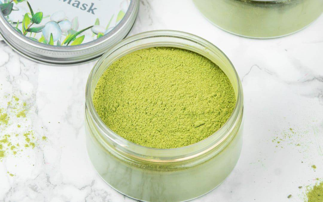 Matcha Green Tea Clay Mask for Glowing Skin