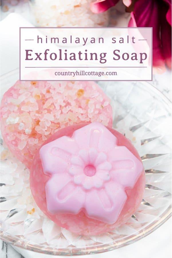 Homemade exfoliating soap recipe